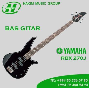 Bakı şəhərində Yamaha rbx270j bas gitar
