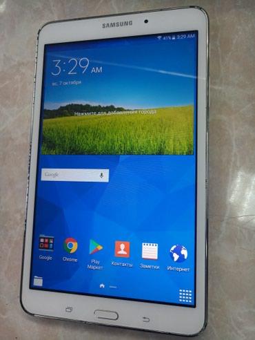 "Samsung Tab 4 8"" 16gb white. Из США, в отличном в Бишкек"
