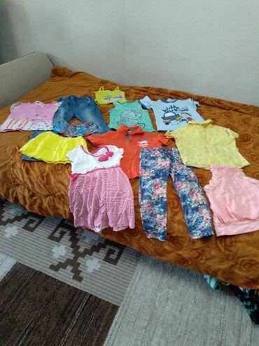 вещи разное в Кыргызстан: Много детских вещей б/у,дёшево,разный сезон
