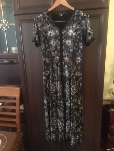 турецкое платье халат в Кыргызстан: Турецкое длинное,легкое платье отл.качества,сост.отл,размер