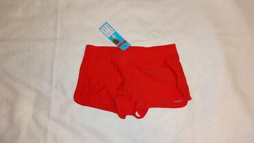 качественные детские вещи в Кыргызстан: Женские подростковые плавки шортиками р. 36 (советский 40-42) красного