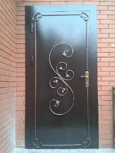 Стальные и бронированы двери,с добавлением ковки,а также с