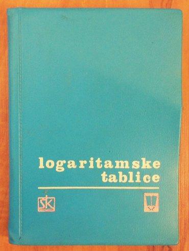 Logaritamske tablice po o. Schlömilchu i j. Majcenu  - Loznica