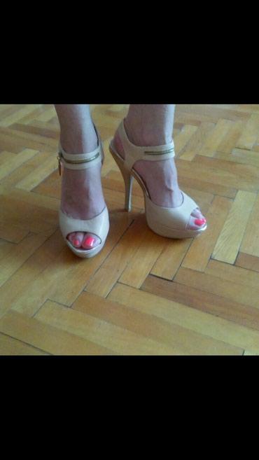 Ženske krem sandale - Novi Sad