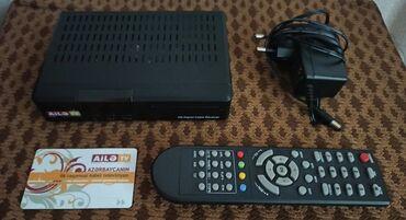 весы 200 кг в Азербайджан: Кабельный Тюнер Ailə tv. Как новый. Можно смотреть до 200 каналов. Воз