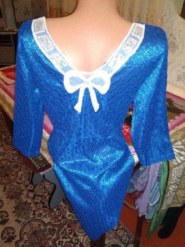Женская одежда в Каинды: Платюшко, одето один раз, 46-48, отдам за 300 сом