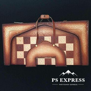 Шахматы кожаные 3d