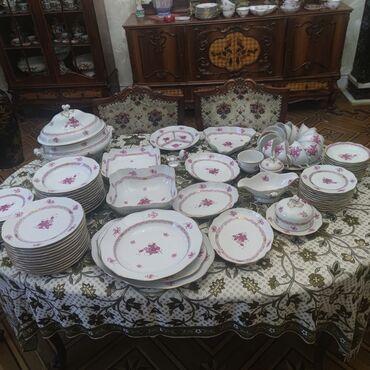 cay daslari satilir in Azərbaycan | QAB-QACAQ DƏSTLƏRI: Herend nahar və çay 12 person