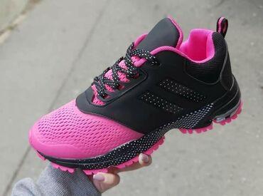 Ženska obuća | Sokobanja: Lagane crno roze patikice u svim brojevima od 36 do 41❤  1800 din