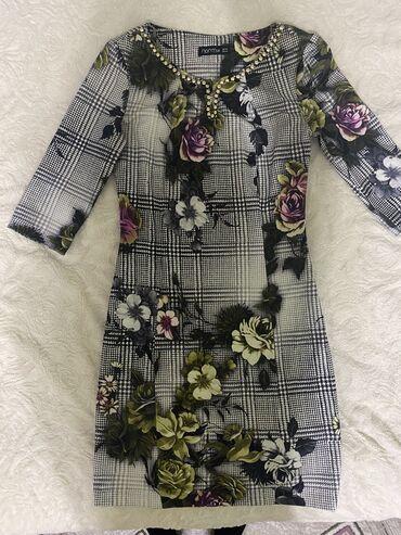 veshhi norm в Кыргызстан: Платье фирмы Norm.Состояние отличное.Размер 42-44.Рукав 3/4,длина выше
