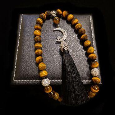 Украшения - Кок-Ой: Тасбих  33штук Из натурального камня Люкс качество  Цена 1350сом