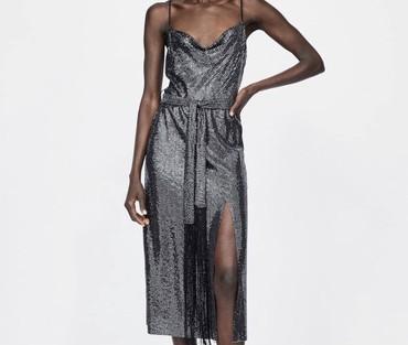 черное платье футляр в Кыргызстан: Платье Вечернее Zara S
