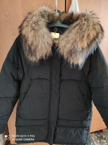 Продаю срочно новую куртку оверсайс 5000сом мех натуралка