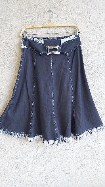 Duzina struk suknja - Srbija: Prelepa suknja A kroja  Vel.38 Duzina 66cm Struk 36cm