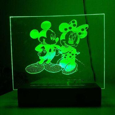 LED UKRASNE LAMPEObradujte svog malisana lampom sa njegovim omiljenim