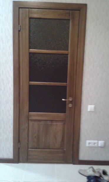 Межкомнатные двери из дерева на заказ, качественно в Бишкек
