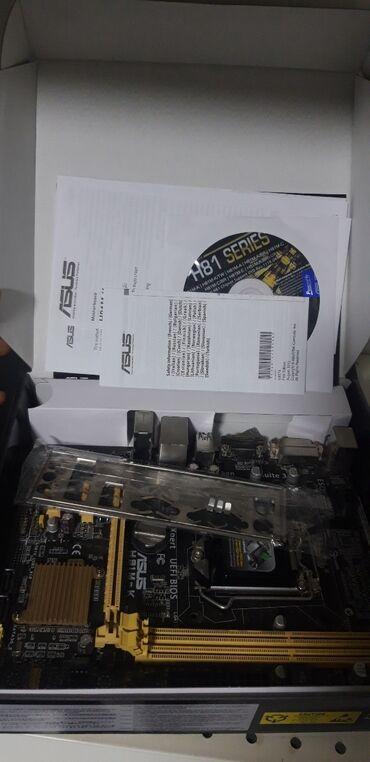Комплект ASUS H81M-K + i5 4460 + 8gb ddr3  Состояние идеал!