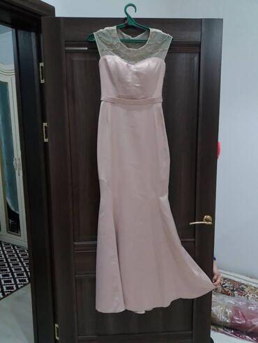 Свадебное белое платье. Розовое. Один раз носили на свадьбу