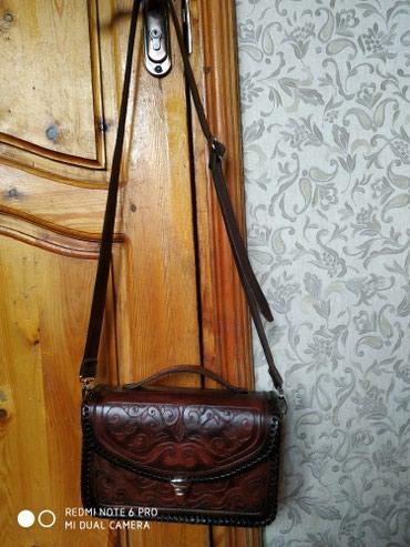 Коженые женские сумки! ручной работы ! в Бишкек