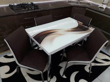Başdan böyüdülən masa  Masanın ölçüsü 110x70 Böyüdüldükdə 170x70 Catdı