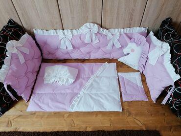 Ogradica - Srbija: Ogradica sa posteljinom.100%pamuk antialergijsko punjenje