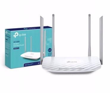 роутер-tp-link-740 в Кыргызстан: Wi-Fi роутер TP-LINK двухдиапазонный Archer C50 AC1200 Для частного