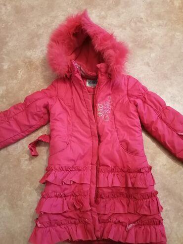teplye shtany na malchika в Кыргызстан: Куртка зима на 6 7 8 лет до колен