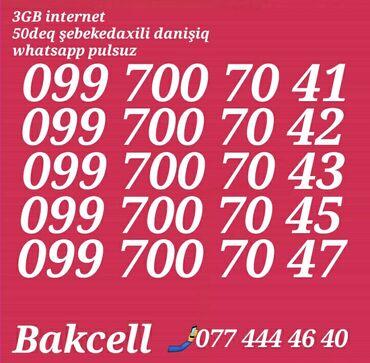 bakcell smartfon - Azərbaycan: Bakcell 099 700