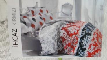 2-спальное-постельное-белье в Кыргызстан: ТУРЦИЯ 2Х спальное постельное белье. Подарочная коробка. Хлопок
