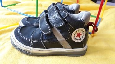 Torbica sa narukvicom cipele e - Srbija: Pollino kozne cipele za decaka sa anatomskim djonom, nosene jednom!