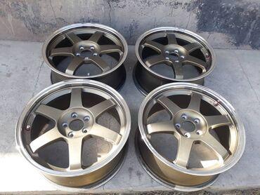 Диски Ray's Volk te37 R17  5-100 Цена 550 $
