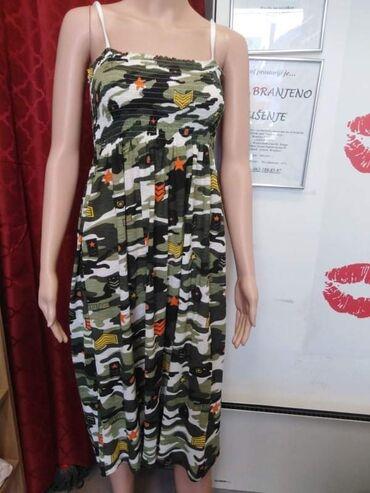 Haljine na bretele,širi modeli, cena 750 dinara