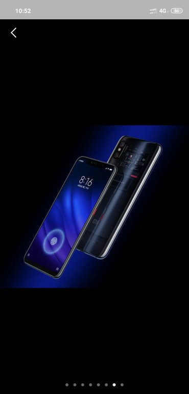 Xiaomi mi 8 Pro Ideal veziyyetdedi.Ram 8 Rom 128Gb.SuperAmoleD cox в Gəncə