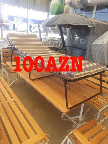 Bağ mebeli - Azərbaycan: Sezlonq yigila bilen