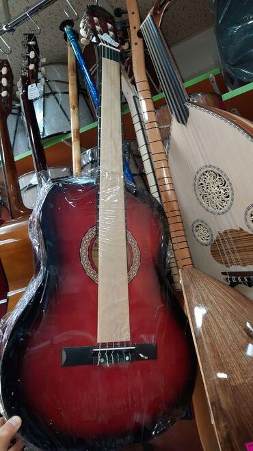 gitara klassik - Azərbaycan: Gitara klassik 4/4 olcude teze pakofqa Sanchez firmasi