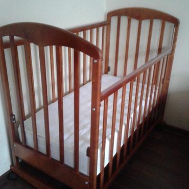"""Продаю детскую кроватку """"фея""""! Отличном состоянии, с матрасом Limex пр"""