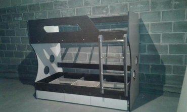 Новая двухъярусная кровать доставка по городу  в Бишкек