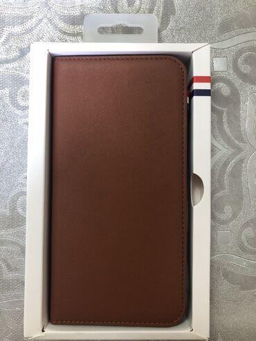 sim karta dlja iphone 5 в Кыргызстан: Чехол бумажник из натуральной кожи для Iphone 6-6S Plus