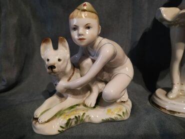 Продаю статуэтку лфз юный пограничник,срочно 1500сом,состояние