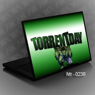 наклейка-для-ноутбука в Кыргызстан: НАКЛЕЙКА НА НОУТБУК №0238 TORRENTDAYИзготовление от 30 минут!Наклейка
