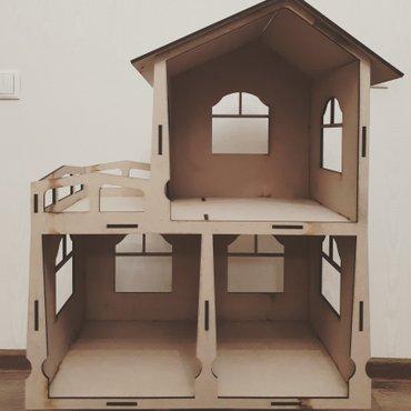 Кукольный домик. высота70см. ширина58см. глубина32см. в Бишкек
