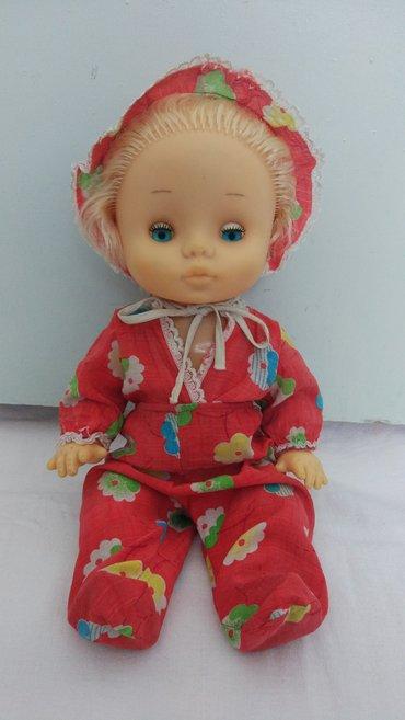 Советская кукла. Рост 40 см. Состояние отличное. Одежда родная в хорош в Каракол