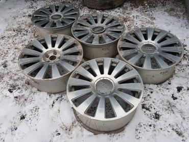 диски r19 в Кыргызстан: Продаю диски на ауди, арбузы r19×8. 5j h2 et45 5x112. 5 диска, два дис