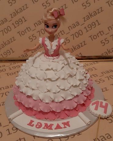 barbi uecuen geyimlr - Azərbaycan: Barbi tort