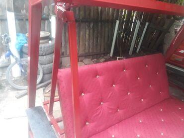 Садовая мебель - Кара-Балта: Садовые качели, преврощаються в кровать . Очень хорошие. В наличии