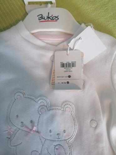 Novi Bluekids kompletic sa etiketom za bebe devojčice vel. 3 do 6