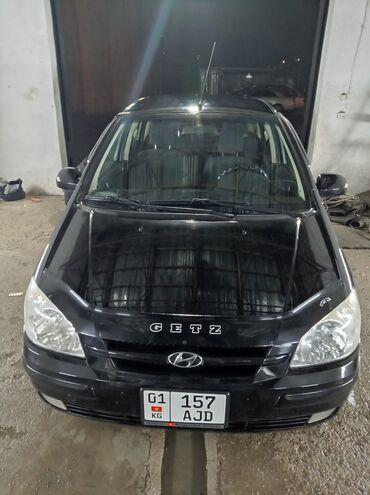 продажа hyundai getz in Кыргызстан   АВТОЗАПЧАСТИ: Hyundai Getz 1.3 л. 2004   214750 км