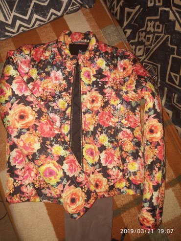 P.S cvetna jakna obucena par puta ali.u savrsenom stanju - Belgrade