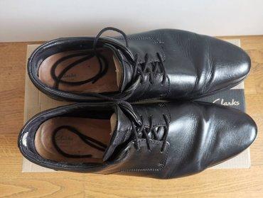 Clarks - Srbija: Clarks Vennor Walk cipele, crne boje, broj 47CLARKS Vennor Walk