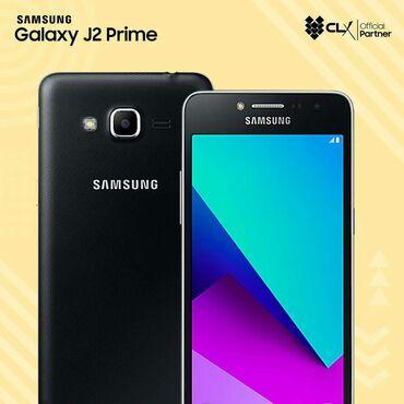 Galaxy-j2-4g - Кыргызстан: Б/у Samsung Galaxy J2 Prime 8 ГБ Черный